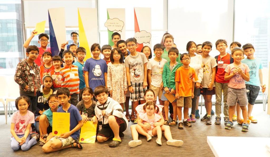 Saturday Kids Google Coding Camp Feb 2016