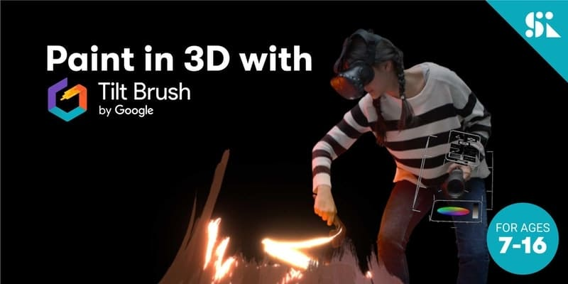 Paint in 3D with Google Tilt Brush