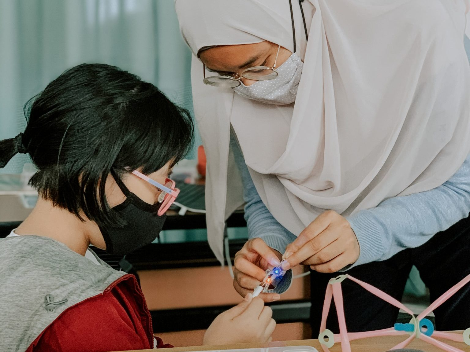 """Meet our #CodeintheCommunity Volunteers – Nurin Hasha: """"I love teaching because I love learning"""""""