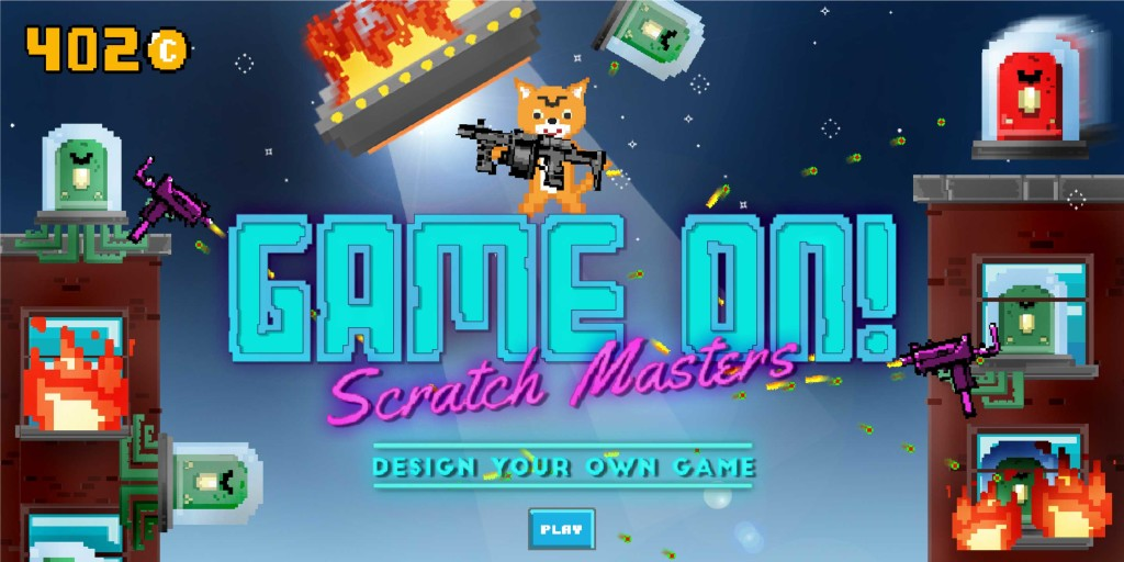 GAME ON Scratch Masters Design Your Own Game Saturday Kids - Game design pictures