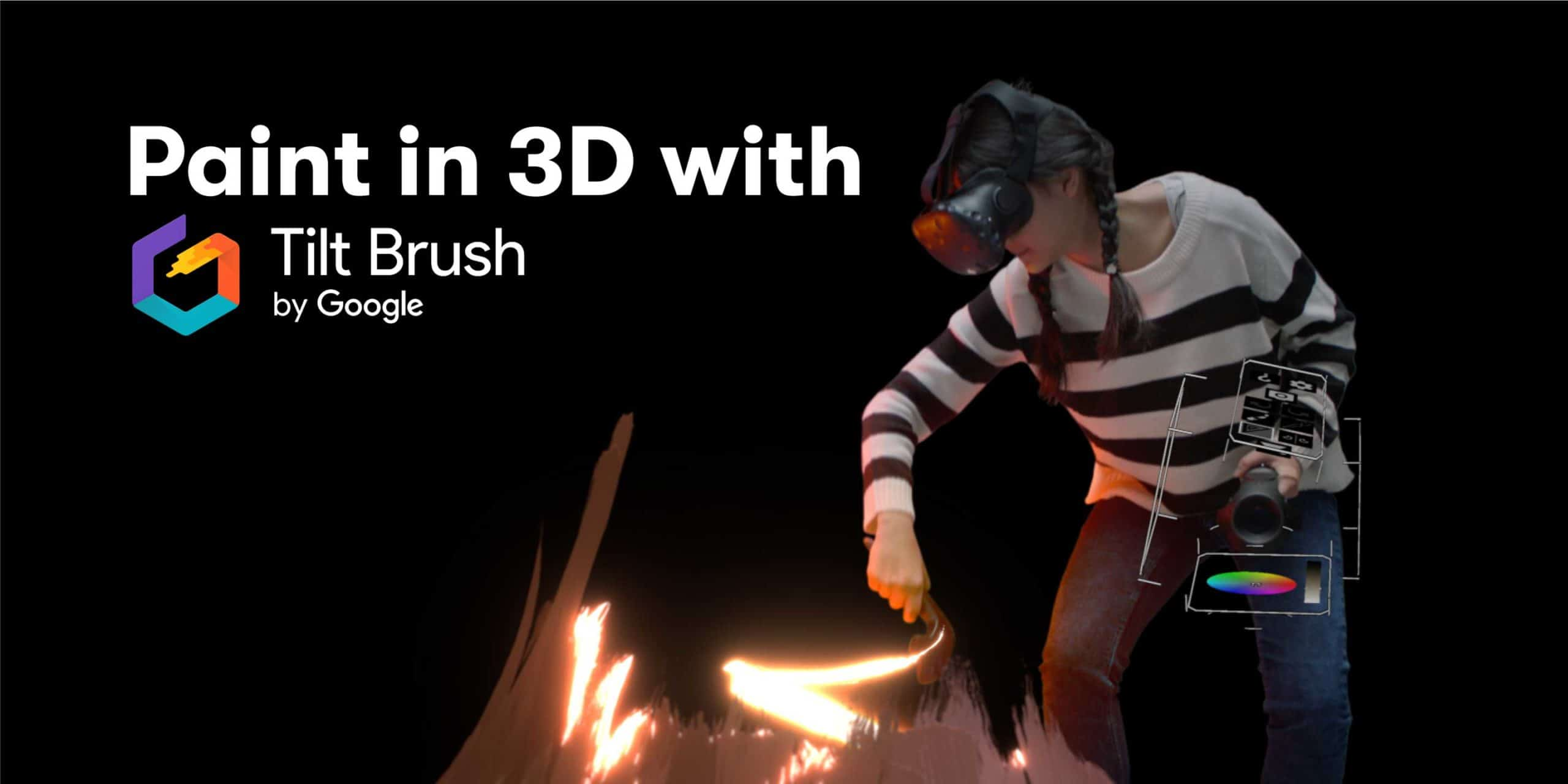 Paint in 3D with Tilt Brush by Google | Saturday Kids