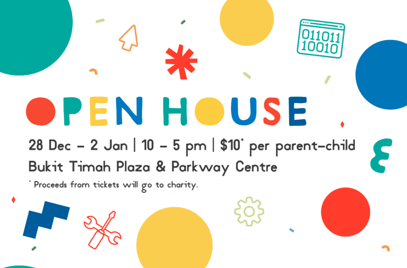 Join us at our first Open House!